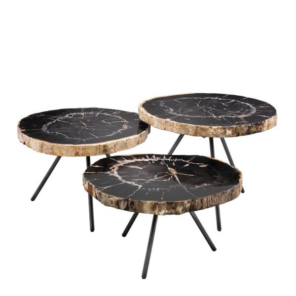 De Soto set of 3 coffee table Eichholtz