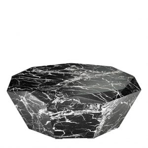 Diamond coffee table black Eichholtz