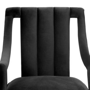 Ermitage chair black 4 Eichholtz