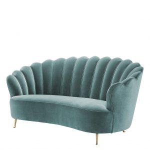 Messina sofa turquoise Eichholtz