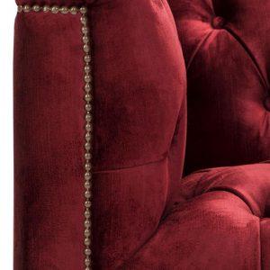 Paolo chair red 4 Eichholtz