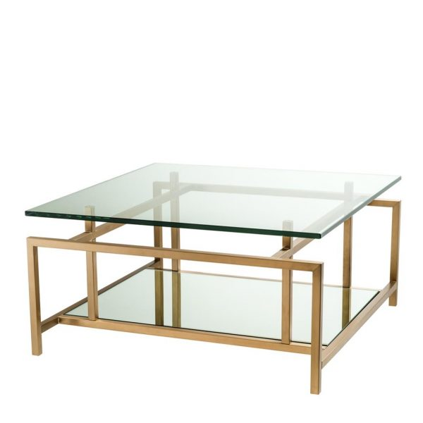 Superia coffee table brass Eichholtz