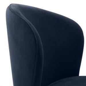 Volante dining chair blue 4 Eichholtz