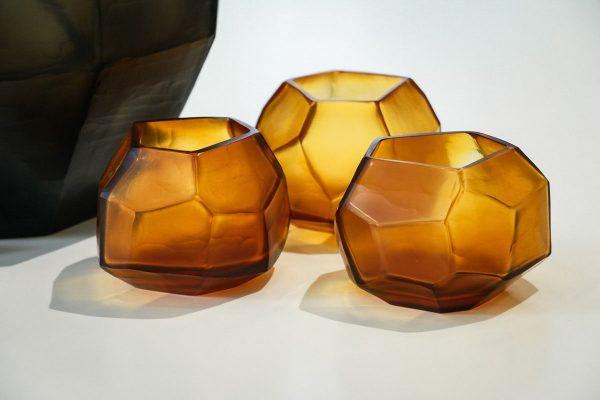 guaxs tealights cubistic gold