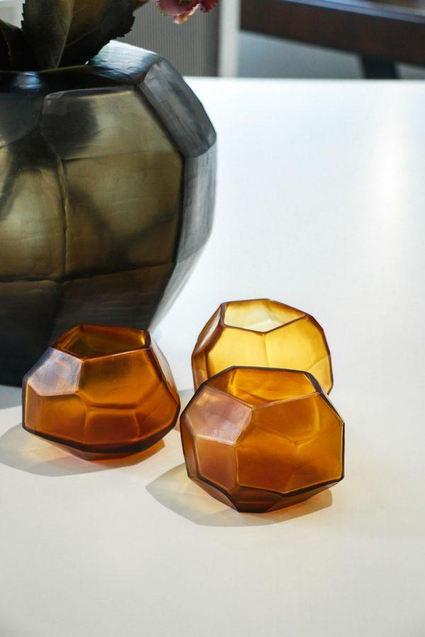 guaxs tealights gold cubistic
