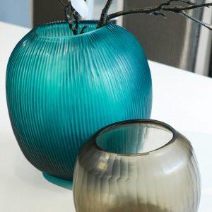 guaxs vase turqoise gournia