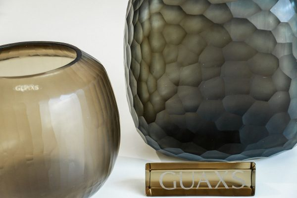 guaxs vase somba grey