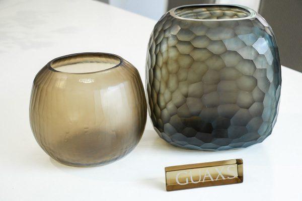 guaxs vase somba smokegrey
