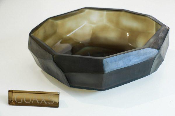 cubistic bowl smokegrey guaxs