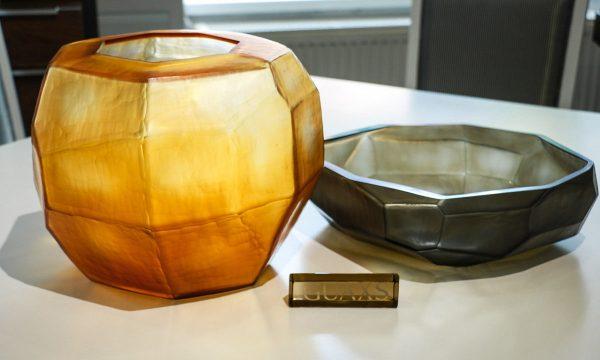 guaxs cubistic smokegrey gold