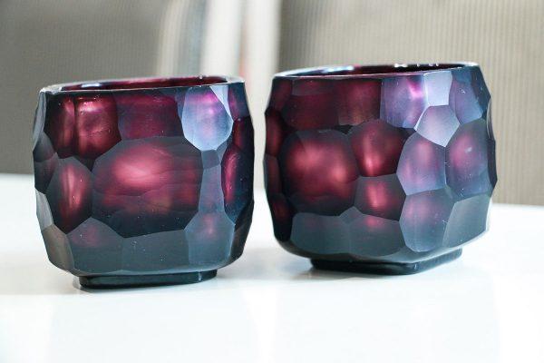 guaxs cubistic tealight amethyst