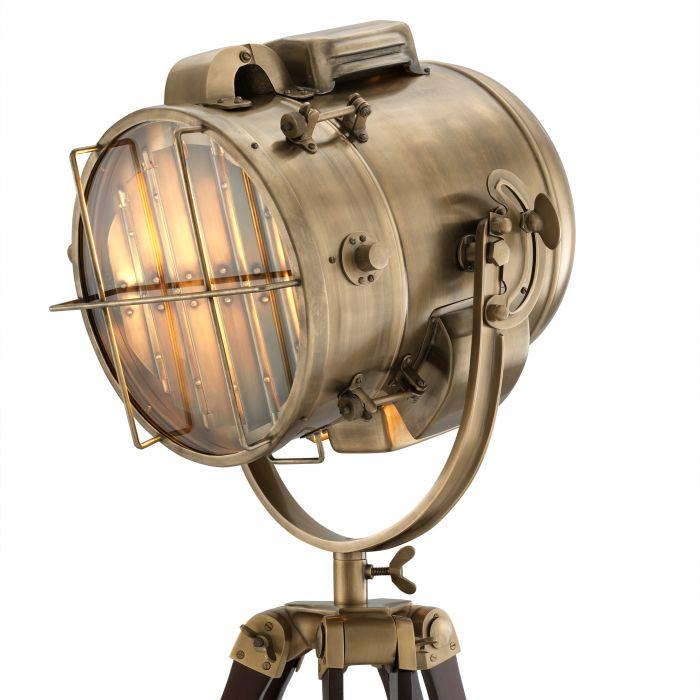 Atlantic Brass Floor Lamp Eichholtz, Brown Floor Lamp