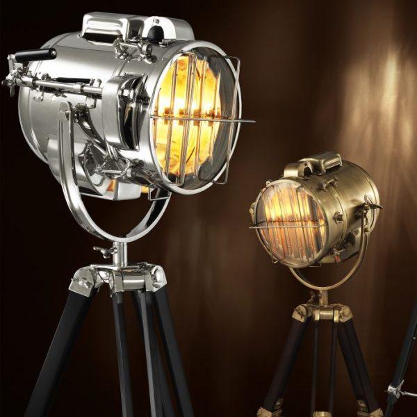 ATLANTIC NICKEL Lamp Floor EICHHOLTZ