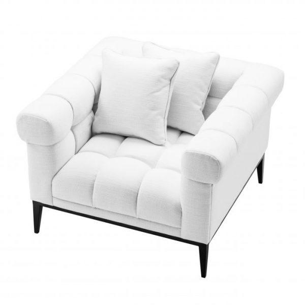 AURELIO AVALON Chair white EICHHOLTZ