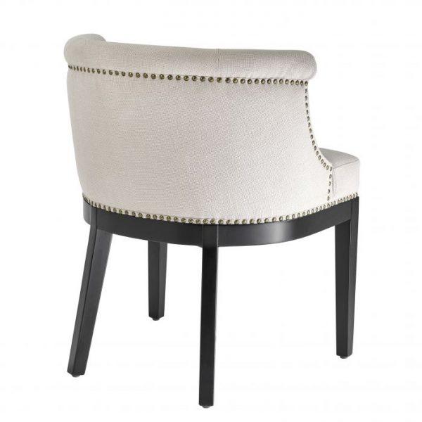 BOCA GRANDE Dining chair white EICHHOLTZ