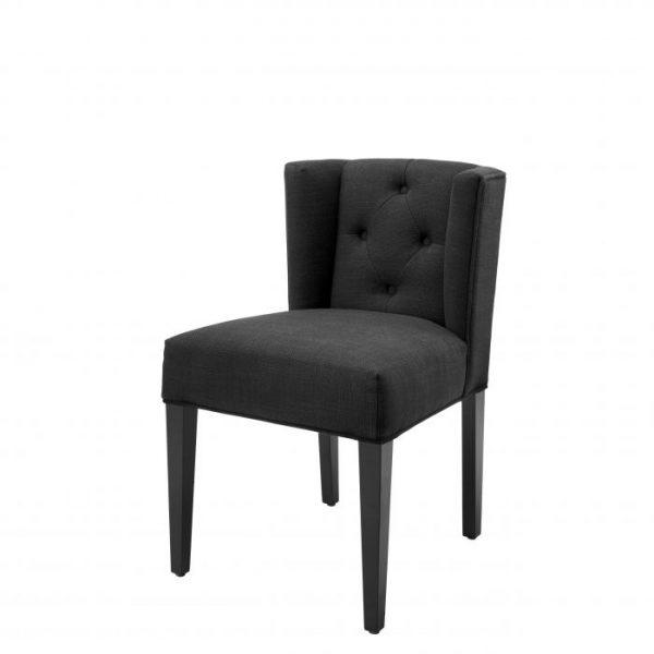 BOCA RATON BLACK Dining chair EICHHOLTZ