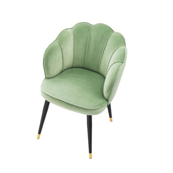 BRISTOL Dining chair PISTACHE GREEN EICHHOLTZ