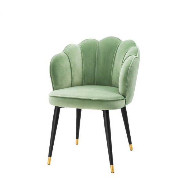 BRISTOL PISTACHE GREEN Dining chair EICHHOLTZ