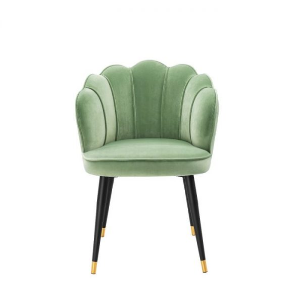 BRISTOL light GREEN Dining chair EICHHOLTZ