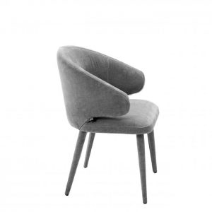CARDINALE GREY chair EICHHOLTZ