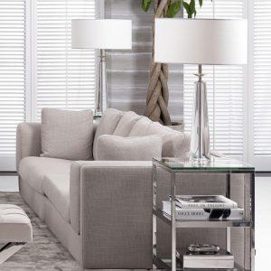 CHAUMON Table Lamp crystal glass EICHHOLTZ
