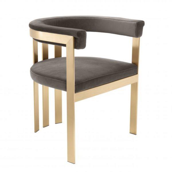 CLUBHOUSE BRASS chair EICHHOLTZ