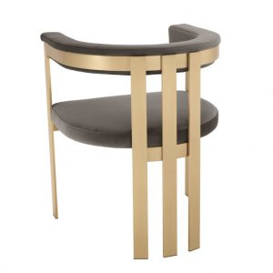 CLUBHOUSE Dining chair brass EICHHOLTZ