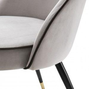 COOPER GREY Dining chair EICHHOLTZ