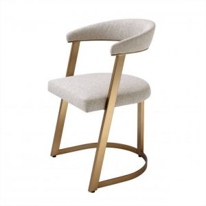 DEXTER BRASS Dining chair EICHHOLTZ