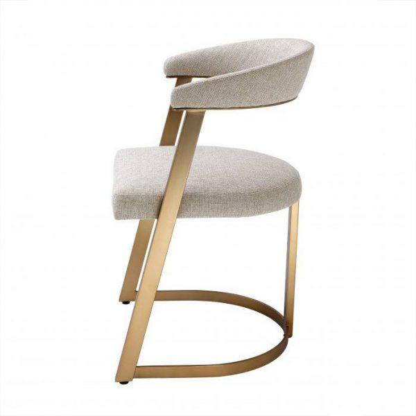DEXTER BRASS chair EICHHOLTZ