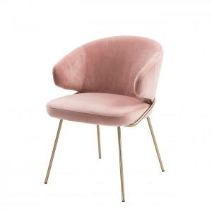 KINLEY NUDE Dining chair EICHHOLTZ