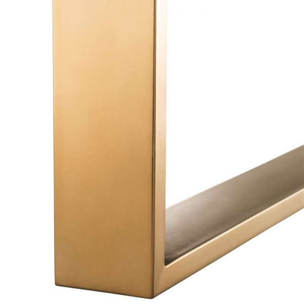 MELCHIOR Dining table brass