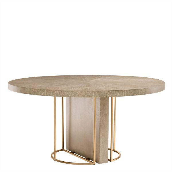 REMINGTON round dining table Eichholtz