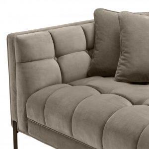 SIENNA GREIGE LEFT Sofa detail EICHHOLTZ
