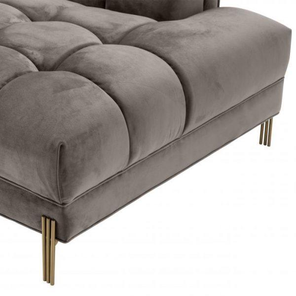 SIENNA GREY LEFT Sofa detail EICHHOLTZ