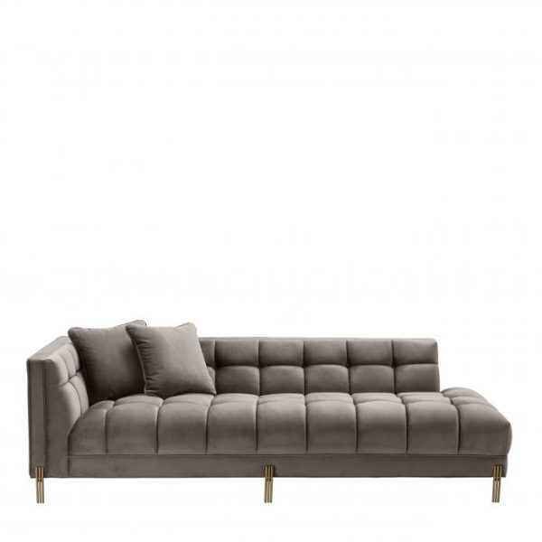 SIENNA GREY LOUNGE LEFT Sofa EICHHOLTZ