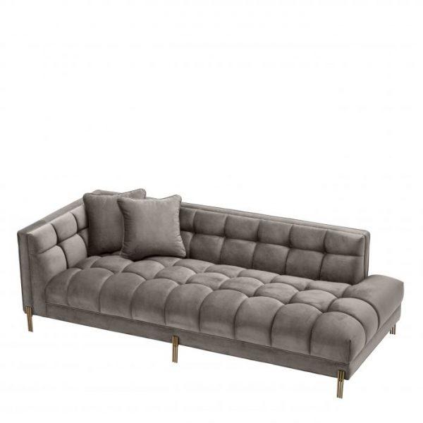 SIENNA lounge Sofa grey EICHHOLTZ