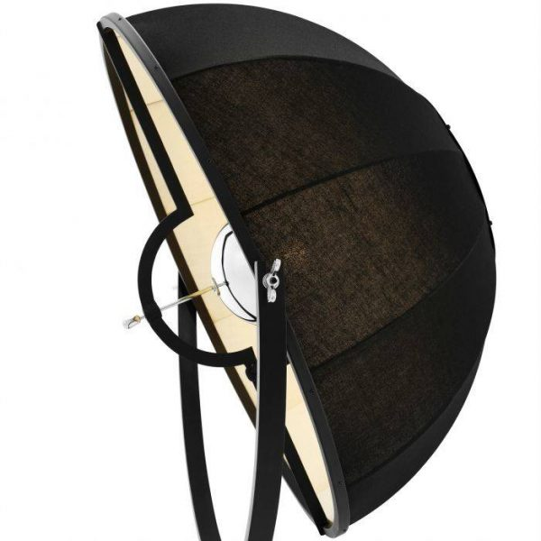 VERTIGO black nickel Floor Lamp EICHHOLTZ
