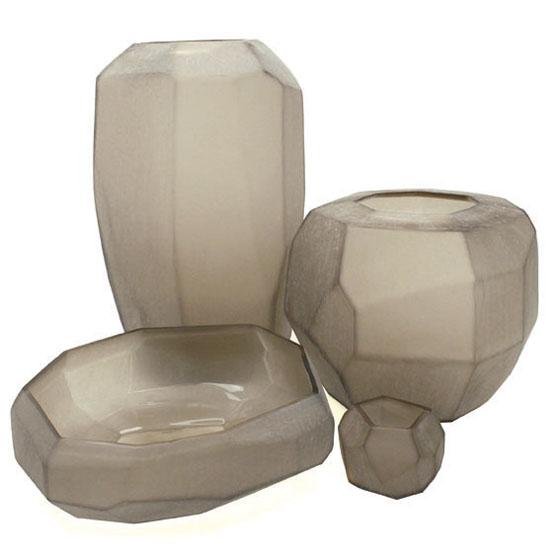 CUBISTIC Grey vases Guaxs