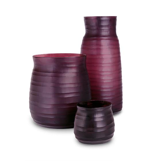 MATHURA vase amethyst Guaxs