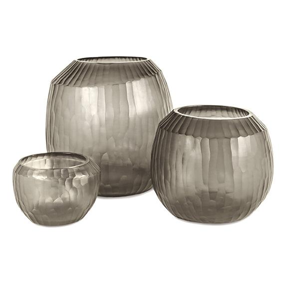 Malia smokegrey vase Guaxs