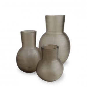Yeola smokegrey guaxs vase