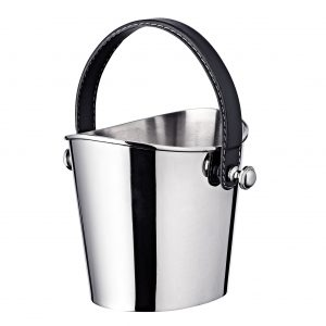 GILBERT Ice Bucket Black H17 2 Edzard