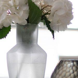 Designer vase GUAXS kahulu clear