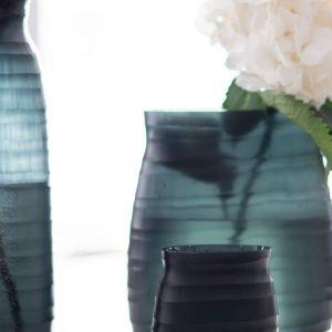 Designer vase GUAXS mathura blue medium