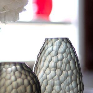 Designer vase GUAXS otavalo smokegrey