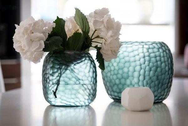 GUAXS somba oceanblue indigo large medium vase