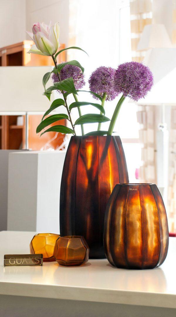 GUAXS koonam butter brown designer vase