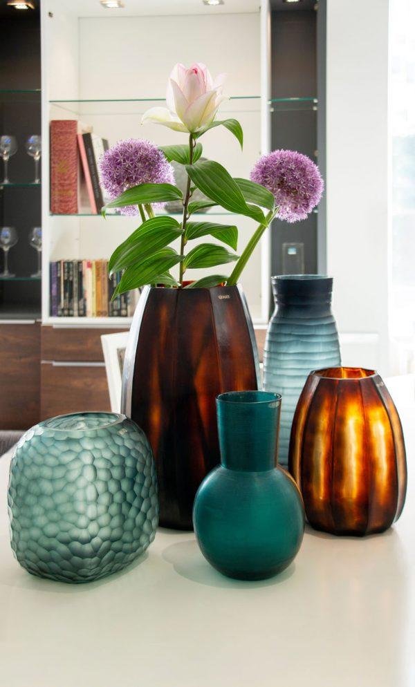 GUAXS luxury vase koonam brown somba blue yeola petrol