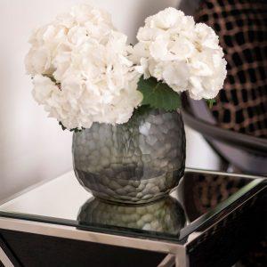 GUAXS vase glass indigo smokegrey somba medium 3